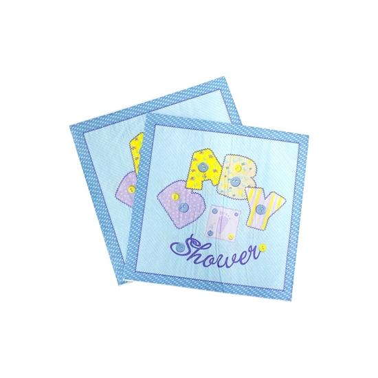 صورة Baby Shower Napkin SHOWER NAPKIN