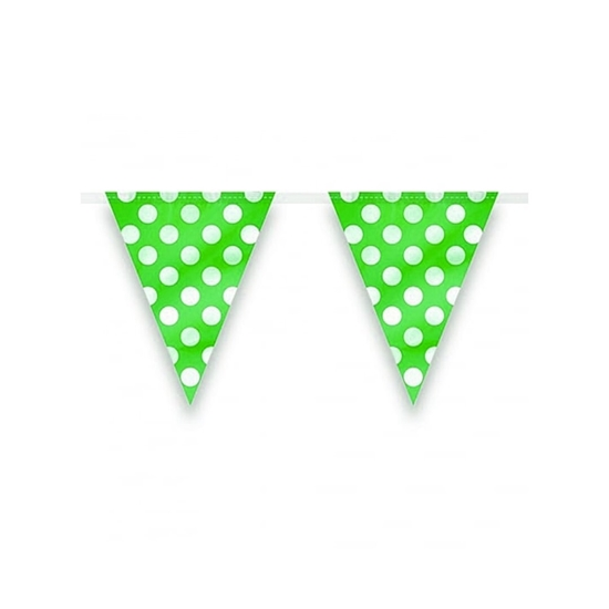 Picture of Polka Dot Party Flag PARTY FLAG