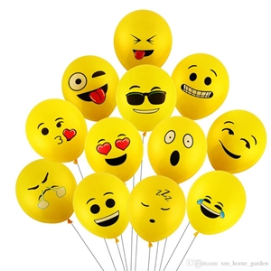 Picture for category SMILY FACE BALLOONS