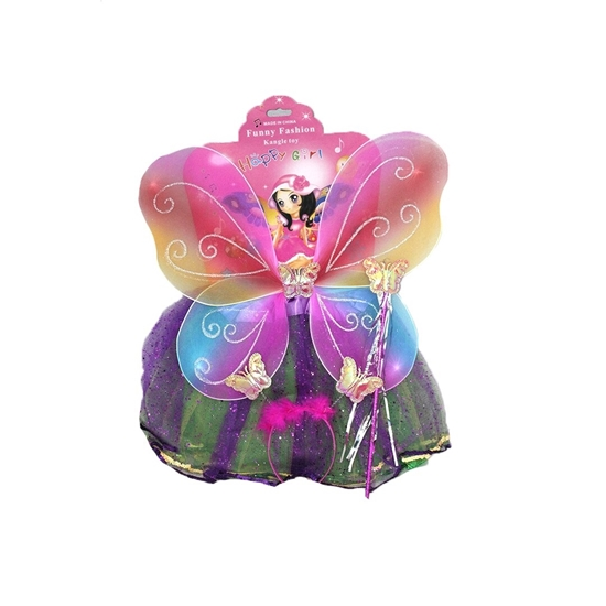 Picture of COLORED FAIRY COSTUME DRESS