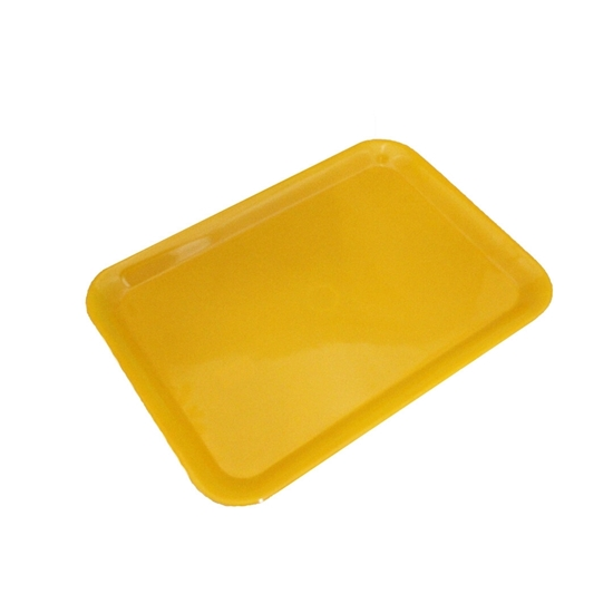 Picture of Orange Melamine Serving Tray - 44 x 32 Cm