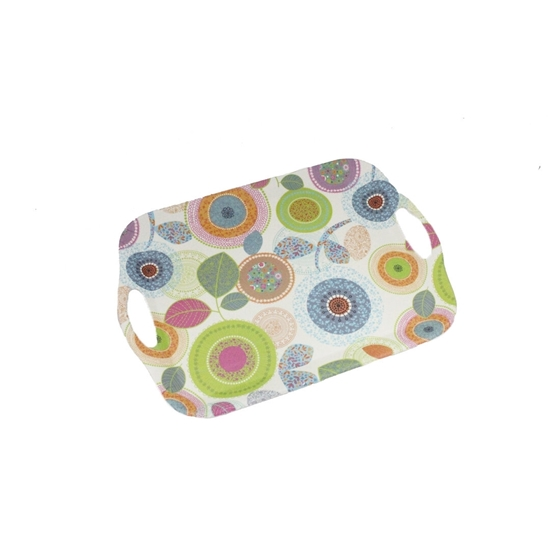 Picture of Printed Serving Melamine Tray - 42 x 29 Cm