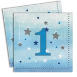 Picture for category 1ST BIRTHDAY NAPKINS