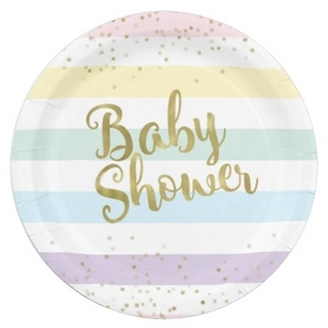 Picture for category BABY SHOWER PAPER PLATE
