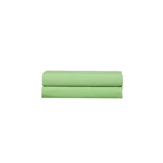 Picture of Green - Cotton & Polyester Pillowcases Set of 2 - 76 x 51 Cm