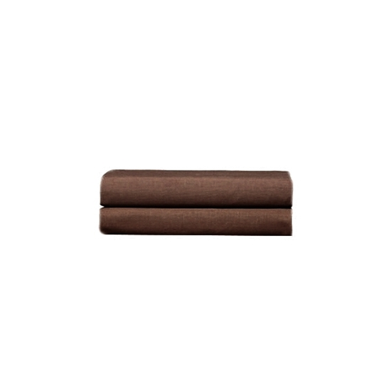 Picture of Brown - Cotton & Polyester Pillowcases Set of 2 - 76 x 51 Cm