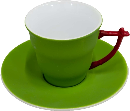 Picture of COLORED COFFEE CUP 6PCS/SET