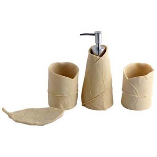 Picture of 4-Piece Ceramic Bathroom Set - 30 x 28.5 Cm