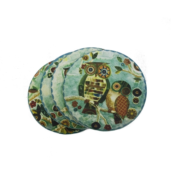 Picture of CIRCLE OWL COASTER