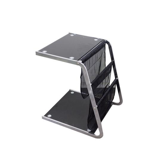 صورة Glass Side Table - W48 x L54 x H62 Cm