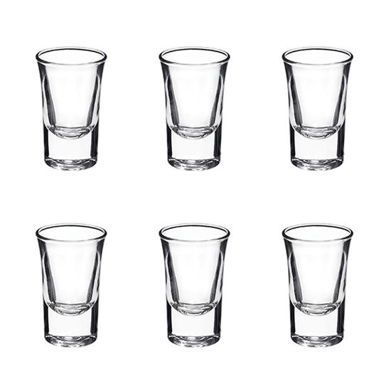 صورة DRINKING GLASS 90ml 6PCS/BOX