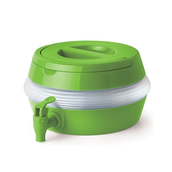Picture of Collapsible Beverage Container Drink Dispenser – 1 Gallon Large Plastic Portable for Outdoor Picnics Parties and More for Adults and Kids up to 29 x 16 CM