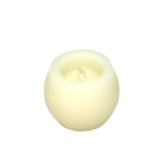 صورة LED Candles Tea Lights, Candles Smokeless Candles with Battery for Party, Festivals, Weddings,Christmas Decoration 5.5 x 5 CM