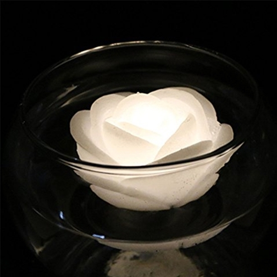 صورة LED Candles Tea Lights, Candles Smokeless Candles with Battery for Party, Festivals, Weddings,Christmas Decoration 4 x 7 CM