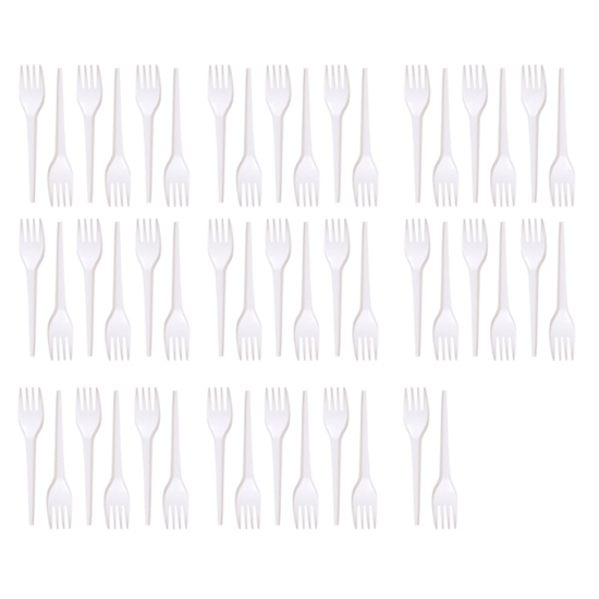 Picture of Plastic Forks - 50 PCs