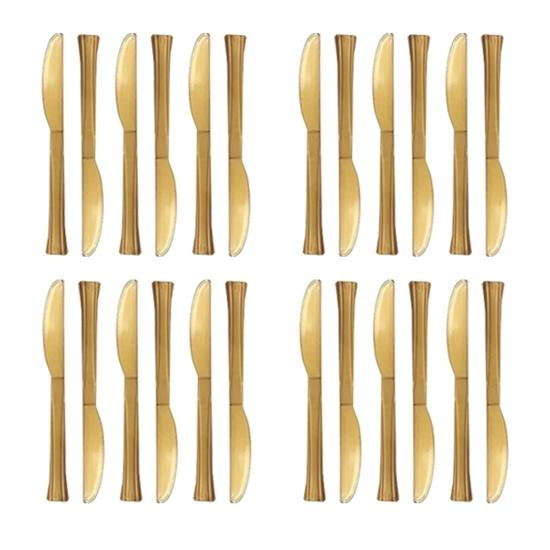 Picture of Plastic Knives, 24 PCs - 18 Cm