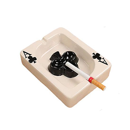Picture of Ceramic Cigarette Ashtray - 14 x 11 x 3.5 Cm