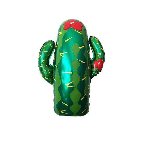 Picture of Cactus Foil Balloons For Party, birthday Party Balloons, 64 x 75 CM