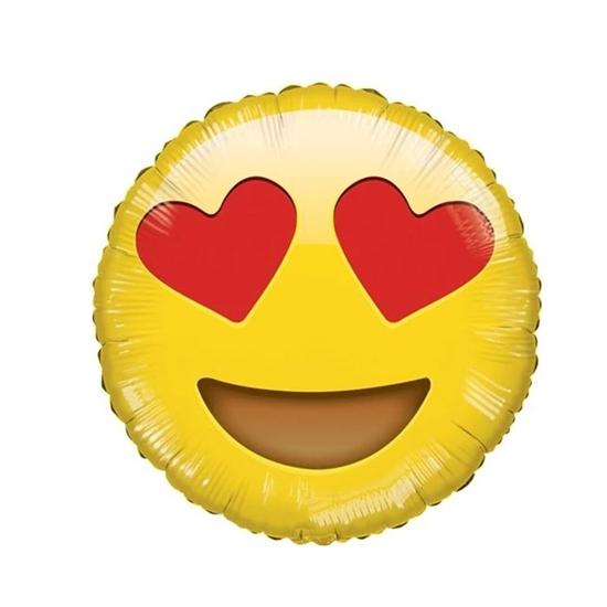 صورة Emoji Balloons - Foil Helium 18inch (64 x72cm)