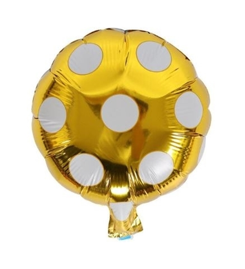 Picture of Candy Dots Spotted Aluminum Balloon - 53 x 47 Cm