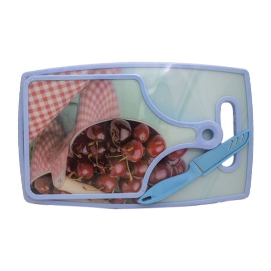 Picture of PLASTIC CUTTING BOARD  Large: 37 x 23 CM - Small: 30 x 19 CM