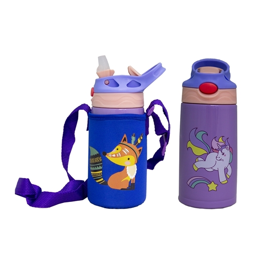 صورة زجاجة مياه للأطفال  - 18 × 9 سم