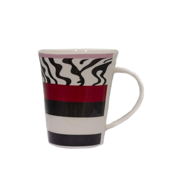 Picture of Colored Ceramic Mug - 9 x 11 Cm