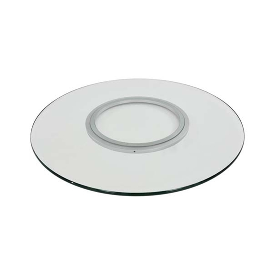 صورة Round Glass Lazy Susan - 60 Cm