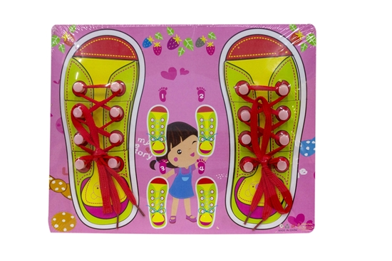 Picture of Buddy Shoe Lace Tying Board -  22 x 30 Cm