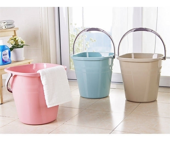 Picture of Plastic Trash Can Wastebasket - 32 x 31 Cm
