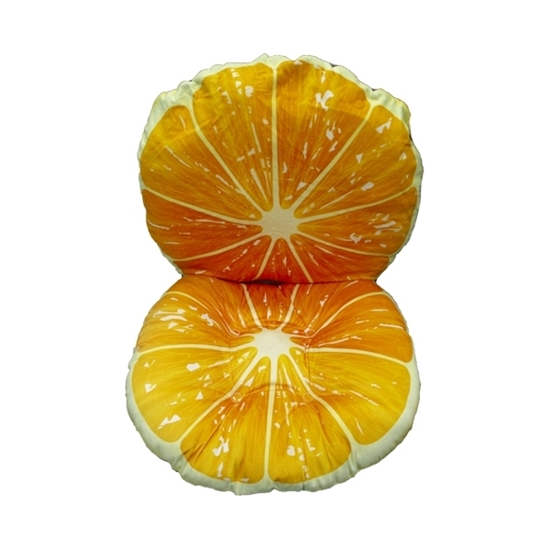 Picture of Orange Chair Pad - 32 x 16 Cm