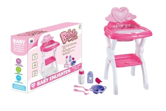 صورة Doll Highchair - 32 x 30 x 58 Cm