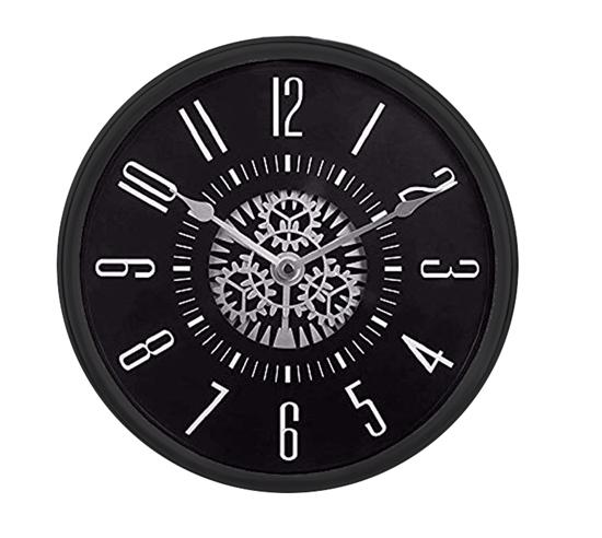 صورة ساعة حائط دائرية الشكل