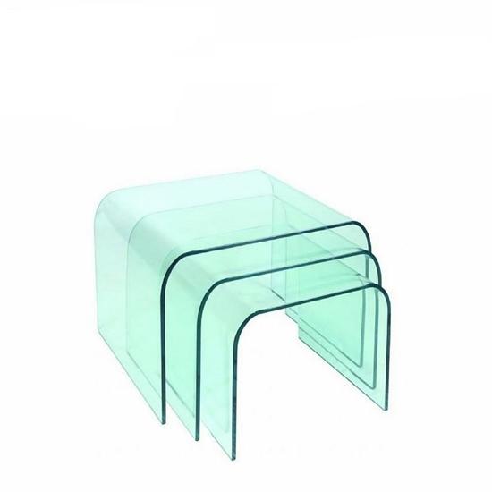 صورة  طاولات زجاجية لغرفة المعيشة