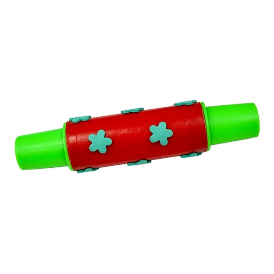 Picture of Colorful Plastic Rolling Pin with Foam Pattern - 17.5 Cm
