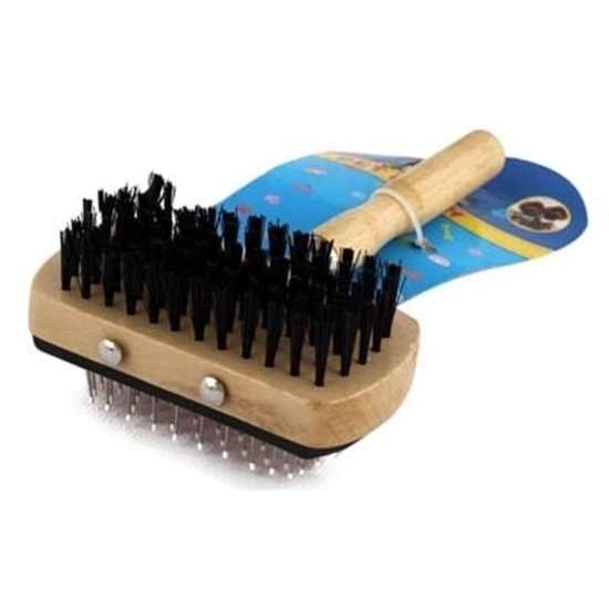 Picture of Wooden Pet Brush - 17 Cm