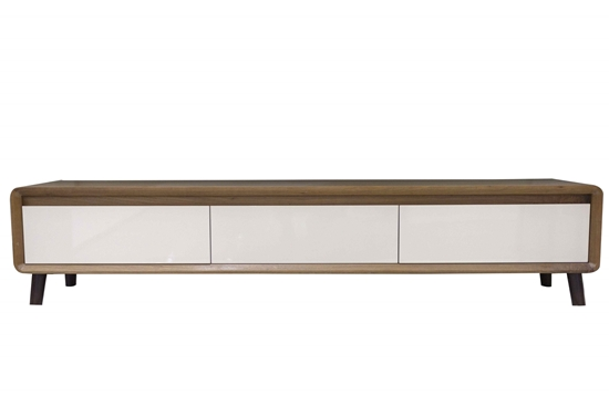 Picture of TV Stand in Brown & Beige - W40 x L197 x H42 Cm