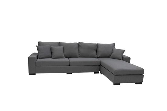 Picture of THREE SEATS AND CORNER - 280 x 170 x 77 Cm