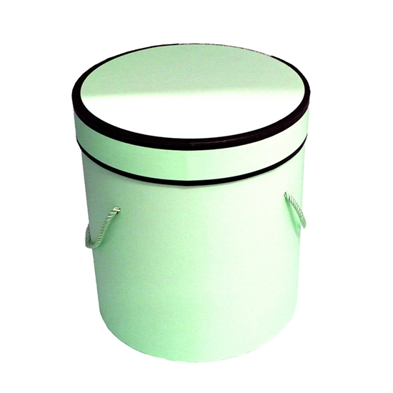 Picture of Green Cylinder Gift Box - 23 x 22 Cm