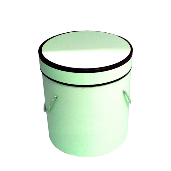 Picture of Green Cylinder Gift Box - 21 x 20 Cm