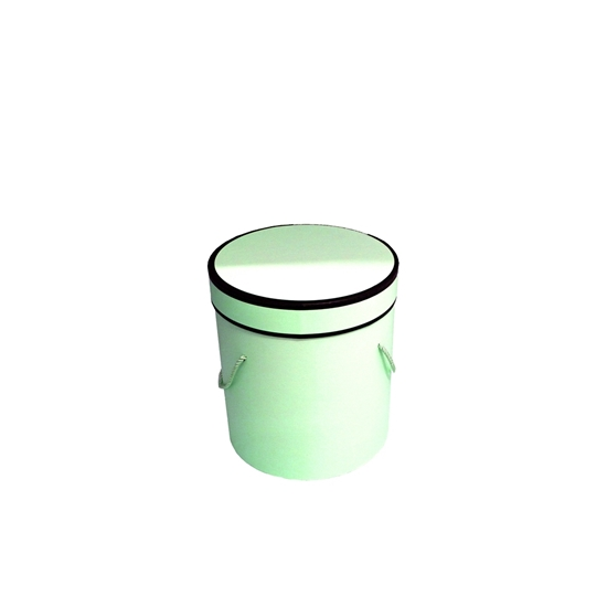 Picture of Green Cylinder Gift Box - 14 x 13 Cm