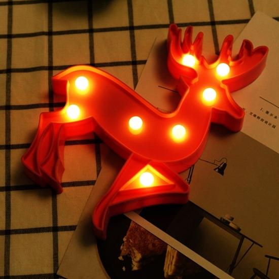 Picture of Deer Shape Decorative Light - 24 x 18 x 3 Cm
