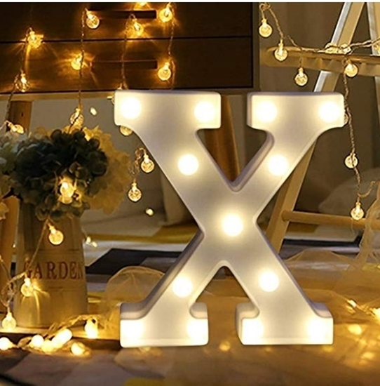 صورة Letter Decorative Light -  22.5 x 17.5 Cm
