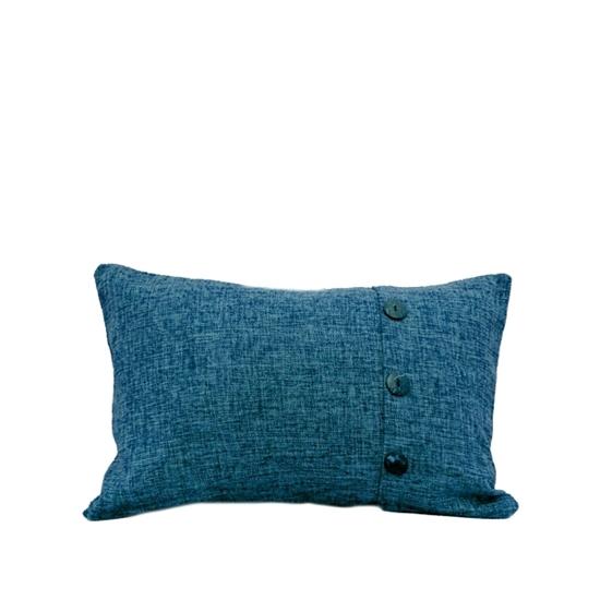 صورة غطاء وسادة بألوان متعددة  قياس 30 × 50 سم