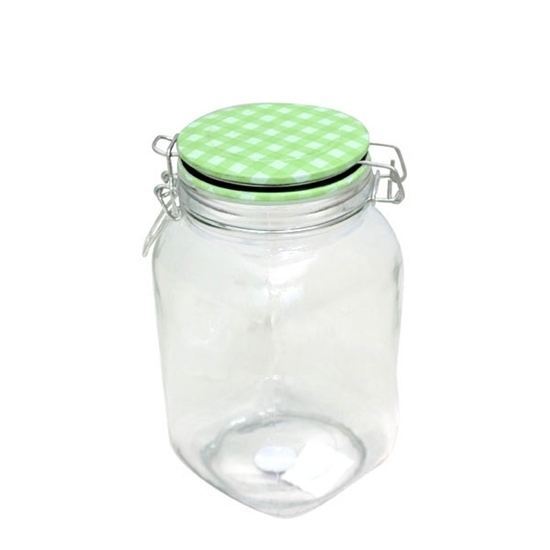 صورة Glass Jar 1.7 L - 20 x 11 Cm