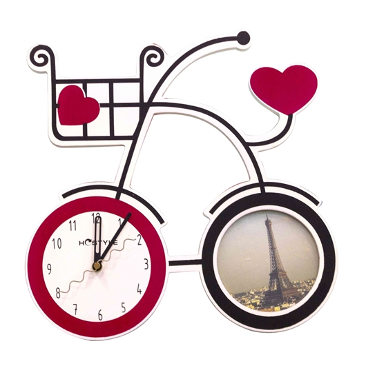 Picture of Bicycle Wall Clock - 33 x 33 Cm