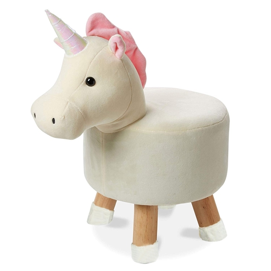 Picture of Children's Stool Solid Wood Dog Shape - 28 x 32 Cm