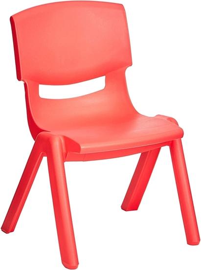 صورة كرسي أطفال صغير من البلاستيك - 30 × 24 × 50 سم