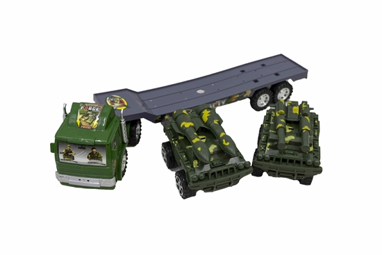 Picture of Toy Truck Transporter - 40 x 7 x 12 Cm