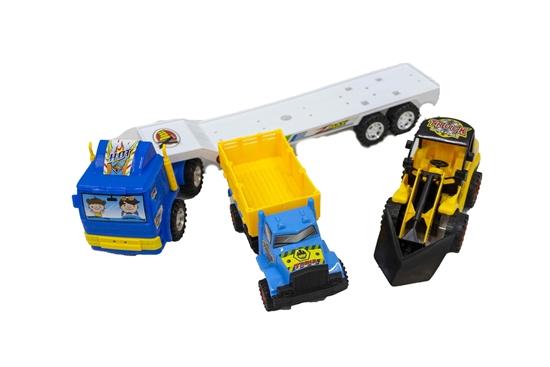 صورة لعبة نقل الشاحنات - قياس 40 × 7 × 12 سم